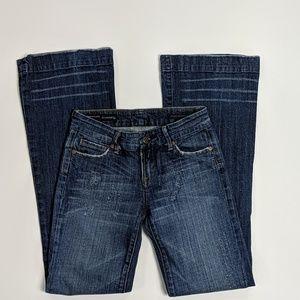 COH Dunaway low waist full leg stretch jeans 26